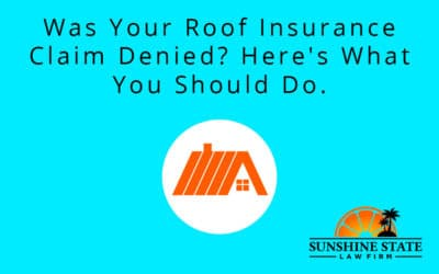 Was Your Roof Insurance Claim Denied? Here's What You Should Do