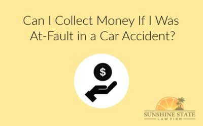 CAN I COLLECT MONEY IF I WAS AT-FAULT IN A CAR ACCIDENT?