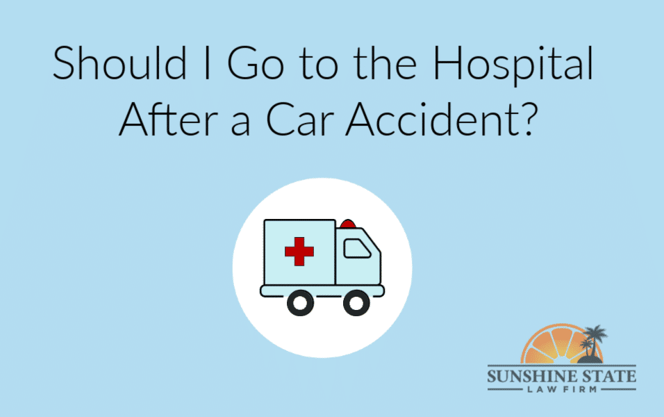 Should I Go to the Hospital After a Car Accident?